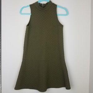 Abercrombie & Fitch Shift Dress Mock Neck